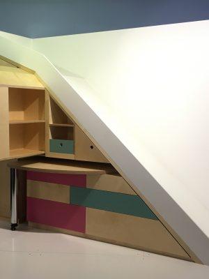 kast onder trap bouw en reno